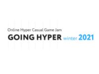 Going Hyper Winter 2021 Online Hyper Casual Game Jam Logo