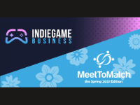 Indie Game Business Sessions: Spring 2021 Logo