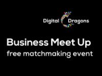 Business Meet Up by Digital Dragons Logo