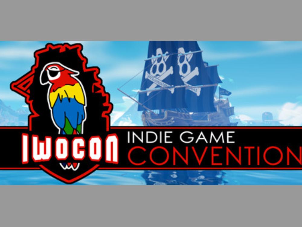 IWOCon 2021 Digital Indie Game Convention Logo
