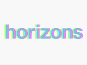 Horizons (by IndieCade) Logo