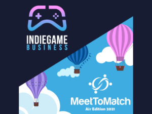 Indie Game Business Sessions: Air Edition Logo
