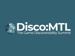 Disco:MTL - The Game Discoverability Summit Logo