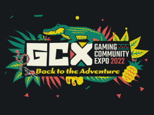 Gaming Community Expo GCX 2022 Logo