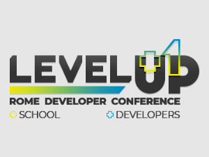 Level Up Conference Rome Logo