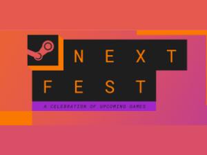 Steam Next Fest October Logo