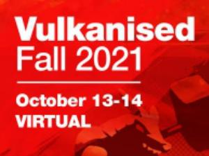Vulkanised Fall 2021 Logo