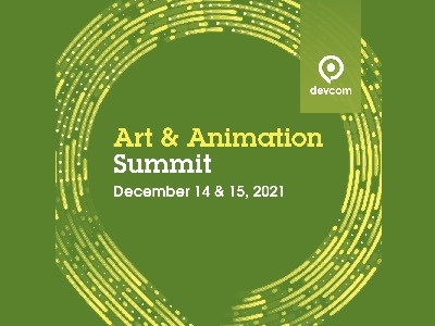 Arts and Animations Summit by Devcom Logo