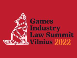Games Industry Law Summit Vilnius 2022 Logo